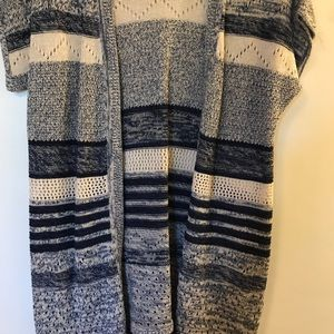 Christopher and Banks Sweater with fringe